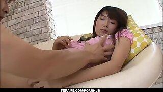 Amazing scenes of real Asian porn starring Yuuno Hoshi