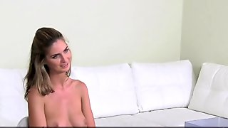 FemaleAgent. Beautiful woman loses her lesbian virginity