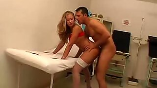 Anal Fucked And Jizzed On Inside The Clinic