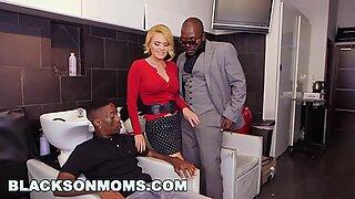 BLACKSONMOMS - Hair Stylist Anal At Hair Studio (xa15187)