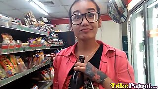 TRIKEPATROL - Asian Corner Store Whore Picked Up For Sex
