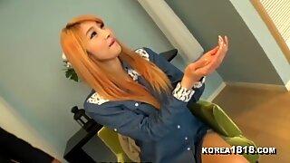 KOREA1818.COM - Strawberry platinum-blonde Korean kinky