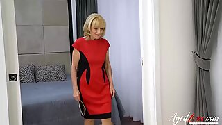 Lady Susana has sex with young man