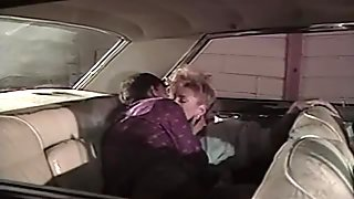 Amazing Retro Chick Hard Sucks And Fucks In Car