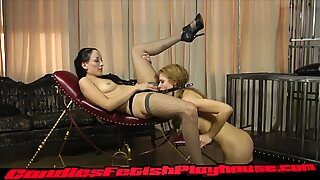 January and Candle Use a Dildo Gag Preview