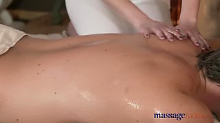 Massage Rooms Tight pussy nympho loves cock